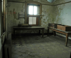 Ellis Island Hosptial Contagious wards room present day