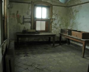 Ellis Island Hosptial Contagious wards room present day