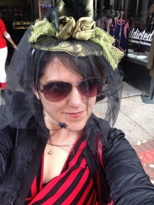 Clowning around and feeling witchy in Salem